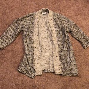 Old Navy 3/4 sleeve open cardigan